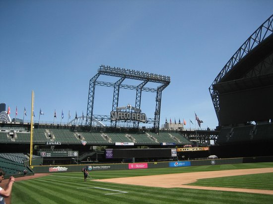 Safeco Field: On the field