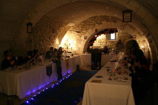Château de La Côte : la salle a manger