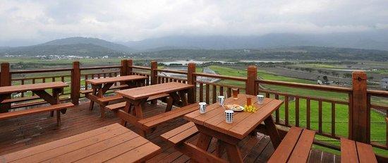 Dapochi Vacation Center: 頂樓觀景台