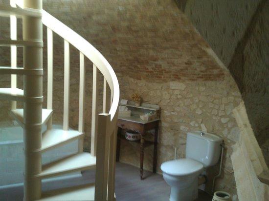 Château de La Côte : chambre superieur acces a toit