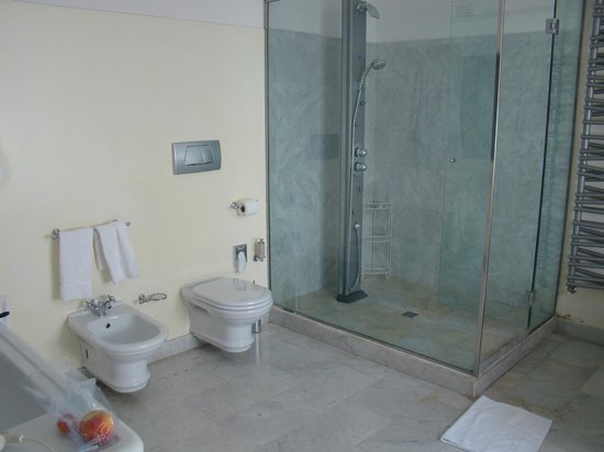 Relais Villa Antea: Shower and toilet