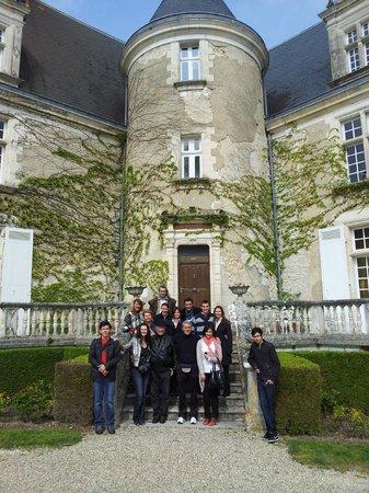 Château de La Côte : entree du chateau
