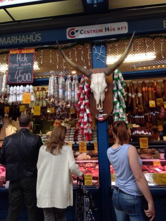Central Market Hall : Sausages and meats