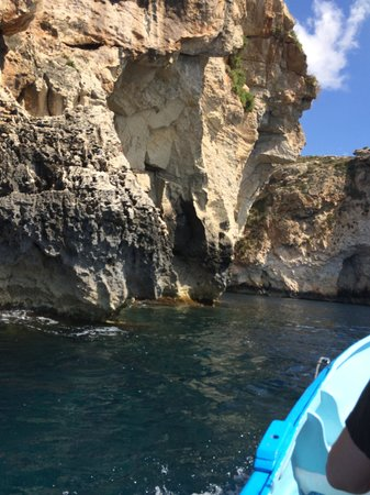 Blue Grotto (Il-Hnejja) : Balade en barque