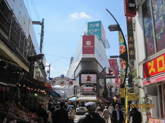 Ameyoko Shopping Street : アメ横