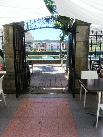 Restaurante y Casa de Marinos UribeKosta: Terraza