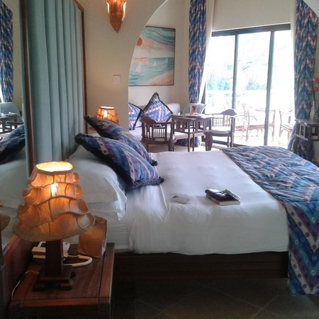 AfroChic Diani: view of the room