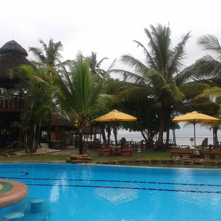 AfroChic Diani: View from the balcony of my room