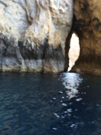 Blue Grotto (Il-Hnejja): Intérieur de la grotte