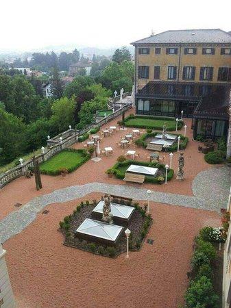 Villa Porro Pirelli: the view from my room