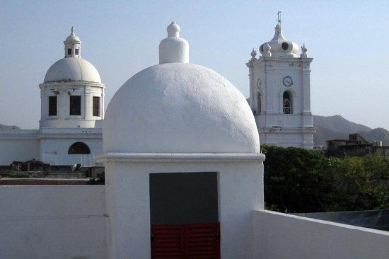 Masaya Hostel Santa Marta: view from the roof at Masaya