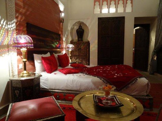 Riad La Porte Rouge : chambre