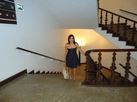 Tropical Manaus Ecoresort: Eu na escada do Tropical