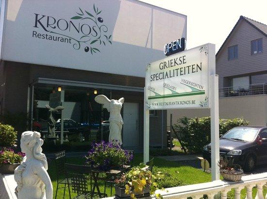 Foto de kronos sint martens latem plat du chef tripadvisor for Y griega exterieur