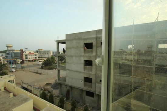 Lords Plaza Ankleshwar: View from a 2nd floor room