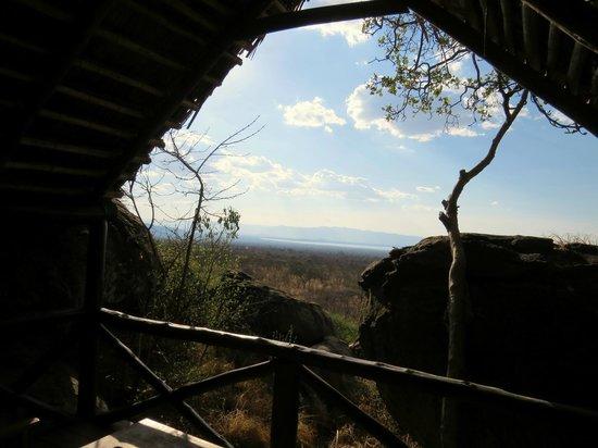 Maweninga Camp: Vue de la térasse