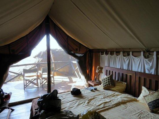 Maweninga Camp: L'intérieur des chambres