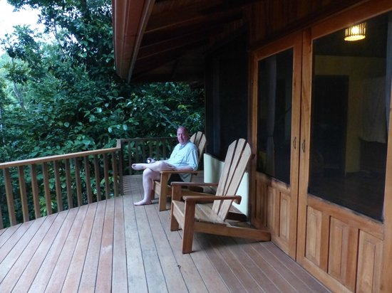 El Remanso Lodge : Deck
