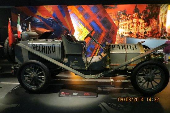Museo Nazionale dell'Automobile : Itala (Pechino - Parigi)