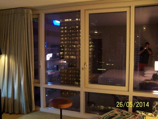 Hyatt Times Square New York: Our room 3606