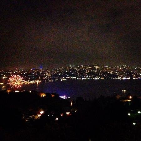 Ulus 29 : the view.. added bonus? fireworks