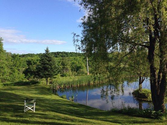 The Willow Tree Inn Bed & Breakfast: Postcard view from The Willow Tree Bed&Breakfast