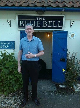 The Blue Bell Inn: Mark at the Blue Bell