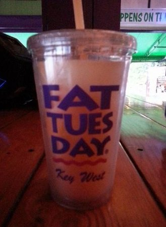 Fat Tuesday: cup 1