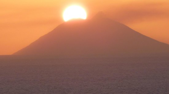 L'Arcobaleno Resort: versinkt im Stromboli
