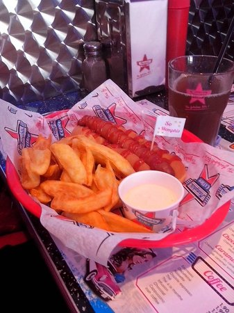 Memphis Coffee : American hot-dog