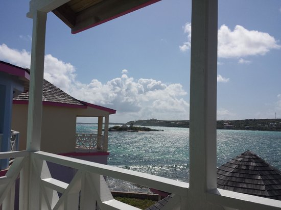 Arawak Beach Inn: View from Room #12