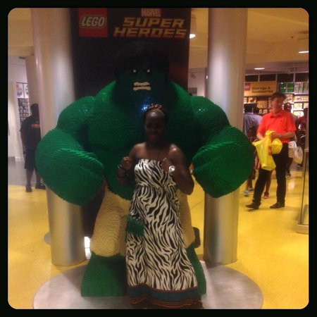 Disney Springs: Incredible Hulk @ LegoLand