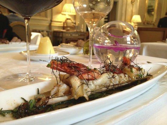 Le Cinq : Razor clams