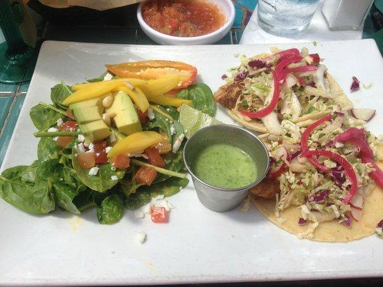 La Fonda on Main : Fish Tacos