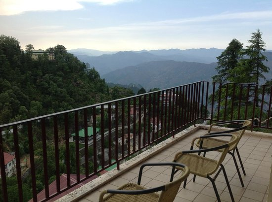 Club Mahindra Mussoorie: view from room