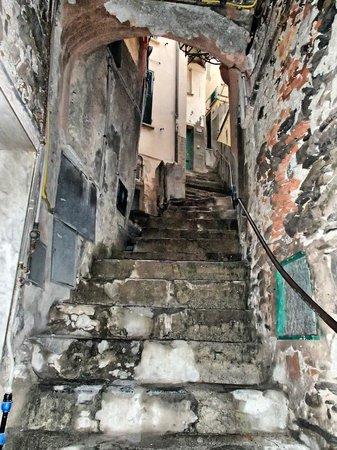 Affittacamere Ca' Dei Lisci: Лестница с улицы