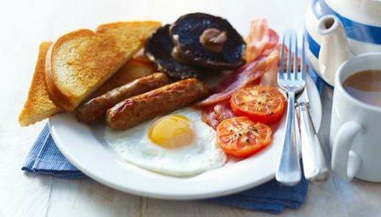 Ladygate Farm B and B: Full English Breakfast