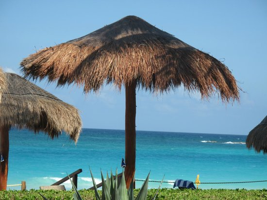 Club Regina Cancun : Tomada desde la alberca