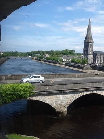 Ballina Manor Hotel: the view from our room