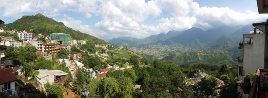 Boutique Sapa Hotel: View from our room's balcony.