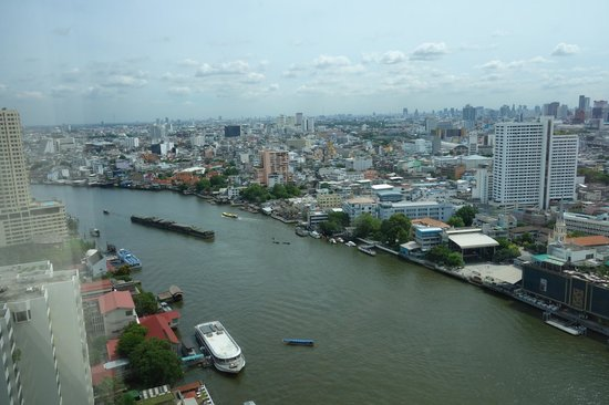 Millennium Hilton Bangkok: View fro the room