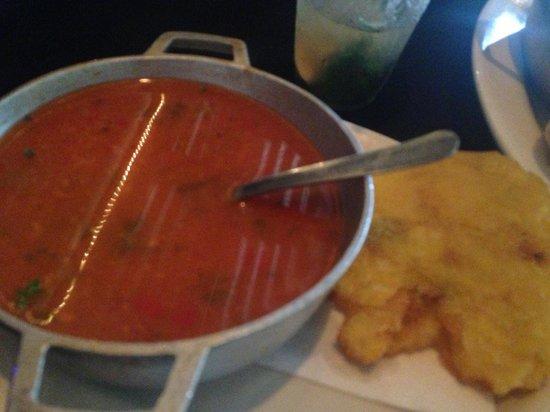 Shipwreck Bar & Grill: Mahi soup