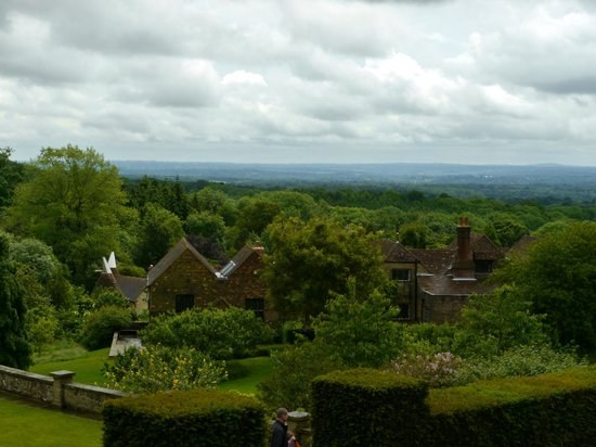 Chartwell : views withs studio cottage (far left)