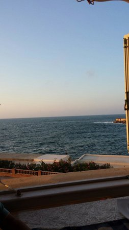 Le Prince Seafood Restaurant: View