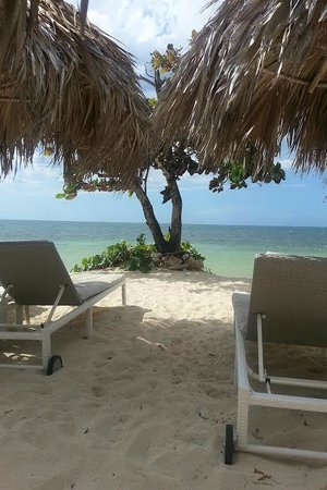 Iberostar Grand Rose Hall: View from our favorite palapa