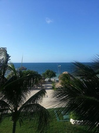 Iberostar Grand Rose Hall: View from our beachfront room