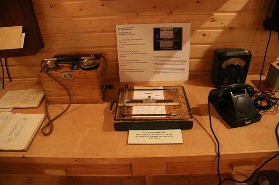 Communications Centre Lokki: Equipment