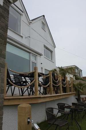 Mevagissey Bay Hotel : Terrace