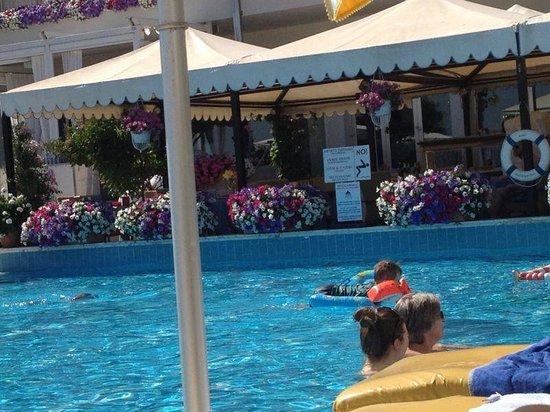Hotel Sirenetta: sehr schöne Blumen. ...