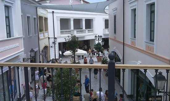 McArthurGlen Designer Outlet Athens  View from 2nd level. McArthurGlen  Designer Outlet Athens  Two floors of shops and restaurants c0a7e003a99